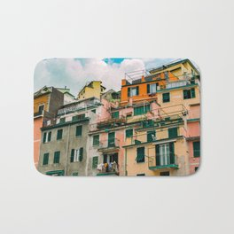 "Travel photography print ""Colorful Italy"" photo art made in Italy. Art Print Art Print Bath Mat"