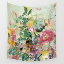 Bright Blossoms Wall Tapestry