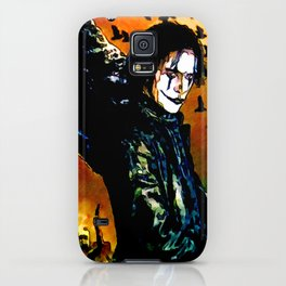The Crow - Colored Sketch iPhone Case