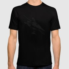 Fairy Scout Black Mens Fitted Tee MEDIUM