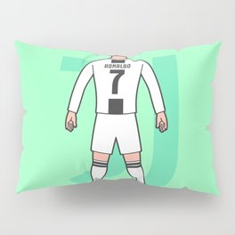 Cristiano arrives in Turin Pillow Sham