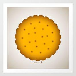 Cookie. Art Print