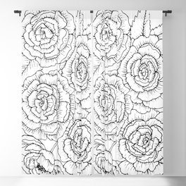 Peony Patch Blackout Curtain