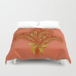 Color Meditation - Orange  Duvet Cover