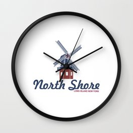North Shore - Long Island. Wall Clock