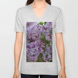 Lilac ~ Periwinkle Unisex V-Neck