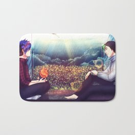 4000 rainy nights - Markiplier and Jacksepticeye Bath Mat