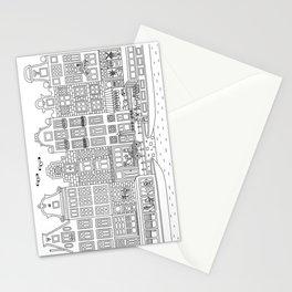 Amsterdam Line Art Stationery Cards