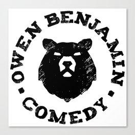 Owen Benjamin Comedy Canvas Print