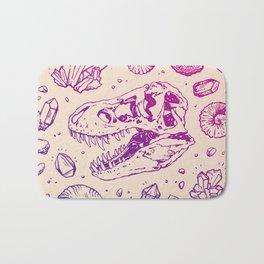 Geo-rex Vortex   Magenta & Purple Ombré Bath Mat