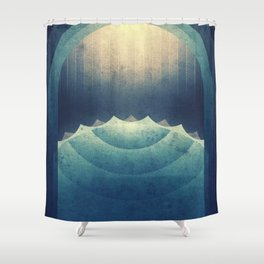 Europa - The Great Lakes Shower Curtain