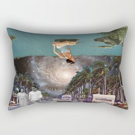 The Mind on Tormented Tides Rectangular Pillow