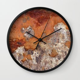 Corroded Driftwood Wall Clock