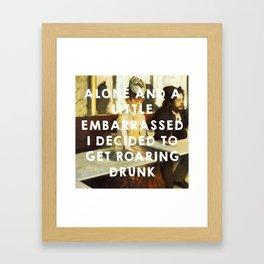 The Absinthe Drinker (1859), Édouard Manet // The Great Gatsby (2013), Baz Luhrmann Framed Art Print
