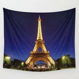 Eiffel evening Wall Tapestry