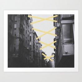Stick 2gether Art Print