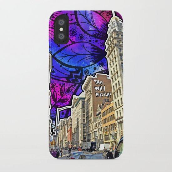 5th Avenue Graffiti iPhone Case