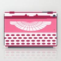typewriter iPad Cases featuring Typewriter by Debra Ulrich