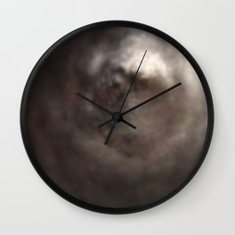 Fly: Smoky Consequence Wall Clock