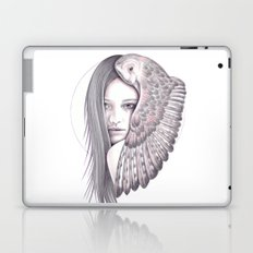 Alone With The Owl Laptop & iPad Skin