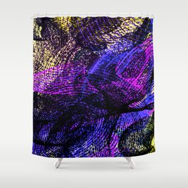 Abstract 8349 Shower Curtain
