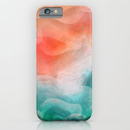 """Coral sand beach and tropical turquoise sea"" iPhone Case"