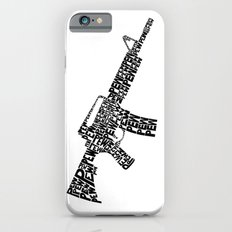 Pew Pew AR-15 iPhone 6s Slim Case