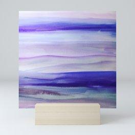 Purple Mountains' Majesty Mini Art Print