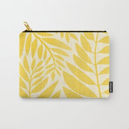 Golden Yellow Leaves Carry-All Pouch