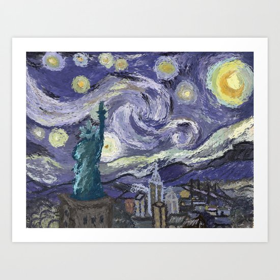 Hurricane Sandy Art Print