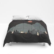 Last Night at Big Rock... Comforters