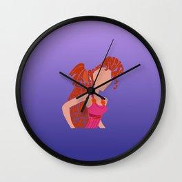 meg Wall Clock