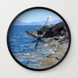 Hebrides Cliffs Wall Clock