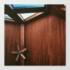 Cabin Ceiling  Canvas Print