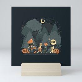 Halloween Forest Mini Art Print
