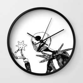 Jack for Christmas Wall Clock
