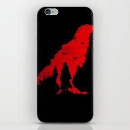 Itachi Uchiha Red iPhone Skin
