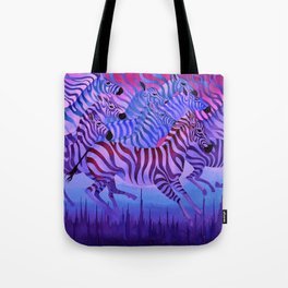 Flying above the sky. Tote Bag