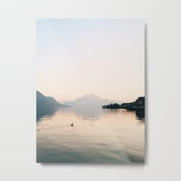 Lucerne, Switzerland Metal Print