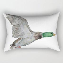 Flying Duck Rectangular Pillow