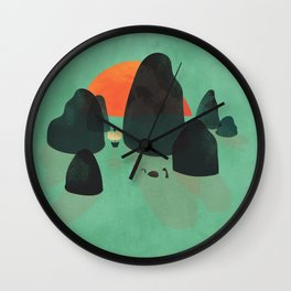 No one ever believed them... Wall Clock