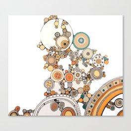 circles IV Canvas Print