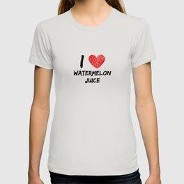 I Love Watermelon Juice T-shirt