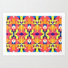 Mozaika3 Art Print