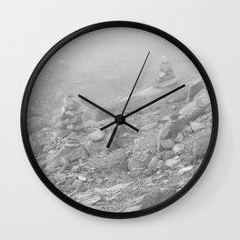 Dragon Jade Mountain-Rocks Wall Clock