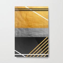 Minimal Complexity Metal Print