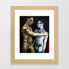 Is this the Droid you are looking for? Framed Art Print