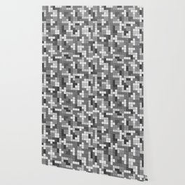 Tetris Camouflage Urban Wallpaper