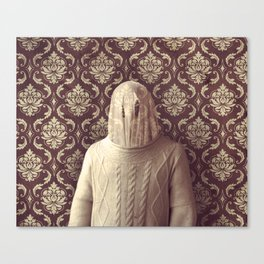 In which I spy a specter Canvas Print