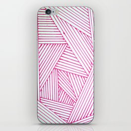 Geometric Doodle Art iPhone Skin